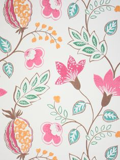 wallpaper for R:  Benvarden by Osborne & Little