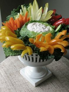 Vegetable Centerpiece Ideas — Wedding Ideas, Wedding Trends, and Wedding Galleries