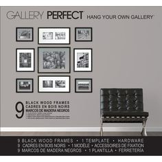 Found it at Wayfair - 9 Piece Wood Matted Picture Frame Set