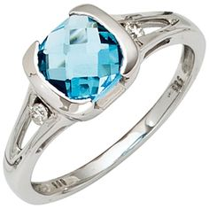 Wessel, Beautiful Rings, Engagement Rings, Ebay, Shopping, Blue Topaz, Pretty Rings, Gold Rings, Silver Jewellery