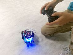 MBot Controlled by Wireless Joystick Using Me USB Host: 4 Steps (with Pictures) Programmable Robot, Programming Tools, Robotics Engineering, Hobby Electronics, Arduino Board, Coding For Kids, Programing Software, 4g Wireless, Stem Science