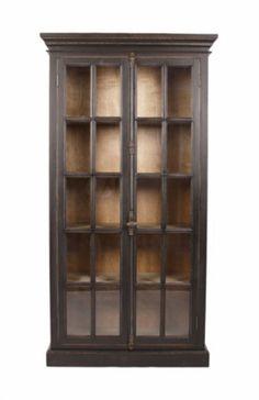 2 DOOR OAK CABINET, CABINETS WITH SHELVES, ZENTIQUE