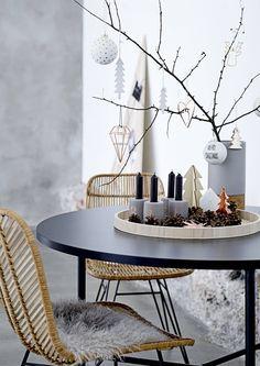 Tänä jouluna on muodikasta koristella koti hennoilla oksilla ja havuilla. Katso Avotakan inspiroivat ideat ja somista kotisi joulutunnelmaan.