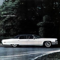 1971 Cadillac Fleetwood Brougham Sedan. Same one great grandma had before getting the 1996