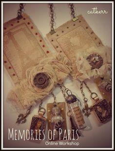 Kit for Memories of Paris Online Workshop at Creative Workshops Only