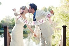 Our DIY Thank You Wedding Banner