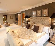 17 Stunning Master Bedroom Design Ideas – Modern Home Dream Rooms, Dream Bedroom, Home Bedroom, Bedroom Ideas, Warm Bedroom, Trendy Bedroom, Master Bedrooms, Bedroom Decor Master For Couples, Bedroom Scene