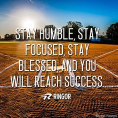 Humble, focused, blessed. Success. ❤️ #softballstrong