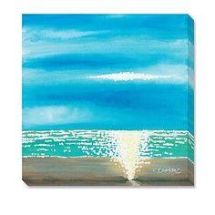 """David Bromstad """"Blue By Me"""" Artwork"""