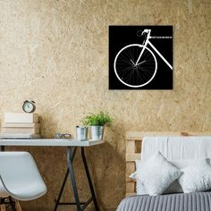 Bike Wall Clock by Carmine Sessa made in Italy on CROWDYHOUSE