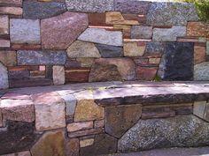 Stone Bench Santa Fe