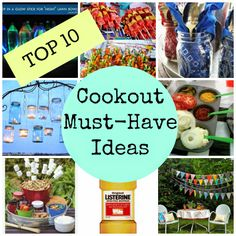 Top 10 Cookout Must-Have Ideas
