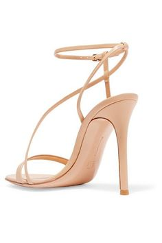Gianvito Rossi - Leather Sandals - Beige - IT40.5