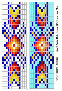 Loom Beading Patterns to Print Barrettes Native American Regalia, Native American Patterns, Native American Beadwork, Native American Design, Beading Patterns Free, Seed Bead Patterns, Beaded Jewelry Patterns, Peyote Patterns, Beading Ideas