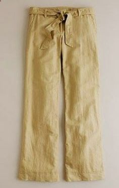 linen pants--- what kind of shoes are best to wear with these though?