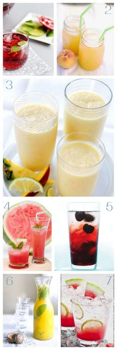 7 fresh and delish summer fruit drink recipes