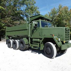 AM General - item condition used am general price us 34 999 00 see details Military Vehicles For Sale, Army Vehicles, Logging Equipment, Military Equipment, Heavy Construction Equipment, Heavy Equipment, Dump Trucks, Big Trucks, Us Army Trucks