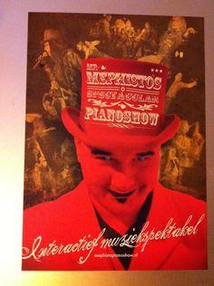 Als Mephisto in Mephisto's Spectacular Pianoshow Mephistopianoshow.nl