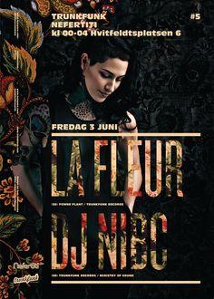 2011.06.03: La Fleur + Dj Nibc