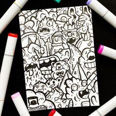 Cute Doodle Art, Cool Doodles, Doodle Art Designs, Doodle Art Drawing, Doodle Sketch, Drawing Tips, Cool Car Drawings, Amazing Drawings, Art Drawings Sketches