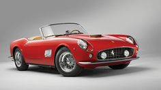 The beautiful California Spyder is expected to bring in almost $10,000,000 at an auction this month.