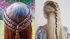 CUTE & EASY Everyday Hairstyles|| Quick Hair Tutorial. #1