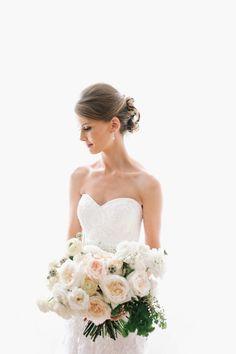 Alfred Angelo Bride Jena wears Style 2506. | Photo: Char Co.