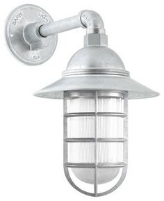 Industrial Guard Sconce  wall sconces