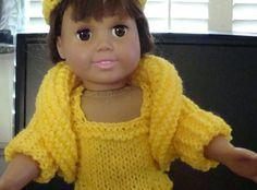 Ladyfingers - Tutorial - AG doll - Shrug