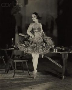The famous Prima Ballerina Anna Pavlova as Kitri in Don Quixote