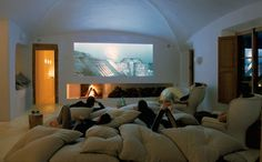 Sleep Over Room/ Home Theatre Room. Awesome with lots of big-ass pillows to sleep on