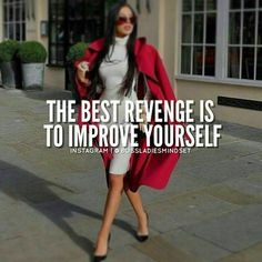 """The best revenge is massive success."" Get out of my way!!! #UniquetouchincCARES #ASKuniquetouchinc #uniquetouchinc"