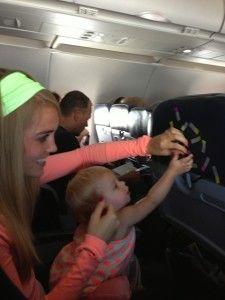 Toddler fun, toddler airplane activities, infant activities, travel with ki Travel Tips With Toddlers, Toddler Travel, Toddler Fun, Travel With Kids, Family Travel, Toddler Airplane Activities, Infant Activities, Flying With A Toddler, Thing 1