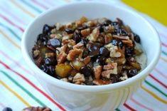 Pear Pecan & Dark Chocolate Porridge