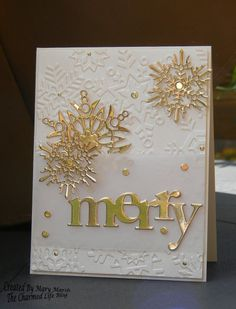 This is my sample for [url=http://www.splitcoaststampers.com/forums/color-combinations-f43/cc545-metallic-gold-meets-very-vanilla-08-25-15-a-t602413.html]CC545.[/url] Karen is our hostess and she chose metallic gold and very vanilla. Dessert this week is butterflies.   I thought these colors were perfect for a Christmas card so I skipped the butterflies. I had [url=https://www.pinterest.com/pin/74661306299615652/]this card[&#x2F...