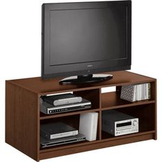 Maine Modular TV Entertainment Unit - Walnut Effect. at Homebase -- Be inspired and make your house a home. Buy now.