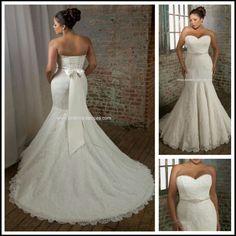 Wedding dress, plus size