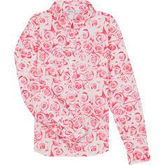winter 2016-17 - chemise mina imprimée rose pivoine #agnesb #agnesbfemme #womenswear
