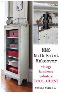 Miss Mustard Seed Milk Paint Makeover - Ironstone -  breidawithab.com