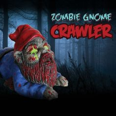 Check out this Glow Zombie Gnome Crawler