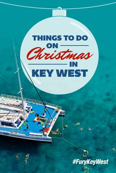 Spending the Christmas holiday in Key West? Then you have to get out on the water! Join us for our all-inclusive Ultimate Adventure for a truly unique Christmas experience. Spend quality time with your family and friends while snorkeling, parasailing, jet skiing and more. Then sit down for a delicious meal of roasted turkey and gravy, grilled vegetables, garden salad, key lime pie and more! #FuryKeyWest