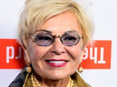 Comedian Roseanne Barr told the Daily Beast that she was going blind due to macular degeneration and glaucoma. Going Blind, Roseanne Barr, Round Sunglasses, Mens Sunglasses, The Daily Beast, Comedians, Grape Vines, Celebrity News, Celebrities