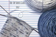 Today we'll be learning: - The Difference Between the Toe & the Heel - Knitting in Ends - Avoiding Holes in the Corners - How to Tell if Stitches are Twisted - How to Measure the Sock Leg - When to Stop Knitting the Leg Calf Socks, Knee Socks, Knitting Socks, Knitted Hats, Boots And Leggings, Calf Muscles, Learn How To Knit, Stockinette, Yarns