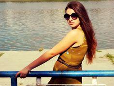 Sun glasses # short dress for hot days