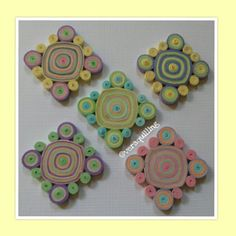#paperquilling #quilling #paper #artandcraft #paperart #handmade #colours