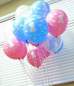 [$0.90](▼55%)[Balloon] Korean 1st Birthday Latex Balloon*Baby Shower balloon*Helium Quality*Decoration Balloon*High Quality*12inch colourful Balloon*Party*