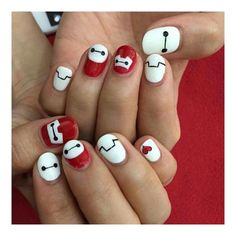 #BAYMAX #NAILS *-*