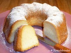Real Food Recipes, Cake Recipes, Cooking Recipes, Yummy Food, Sweet Light, Kolaci I Torte, Torte Cake, White Cakes, Angel Cake