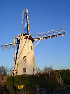 De Adriaan is a windmill located in Meerveldhoven, a neighbourhood of Veldhoven, North Brabant, Netherlands. Built in 1906 on an artificial hill, the windmill functioned as gristmill. The mill was built as a tower mill & it's sails have a span of 26.20 meters. It was built for the family Van Grinsven from Beek en Donk. Since 1935 the mill has been the  property of the family De Jongh. The mill was in regular use until the 1980s when the family De Jong took another windmill