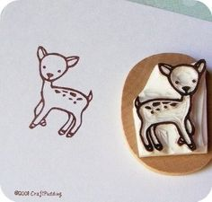 Shop Little Fawn Hand Carved rubber stamp at $16.00, 1 shopper have recommended it, browse similar styles, and connect with others who love it, too.